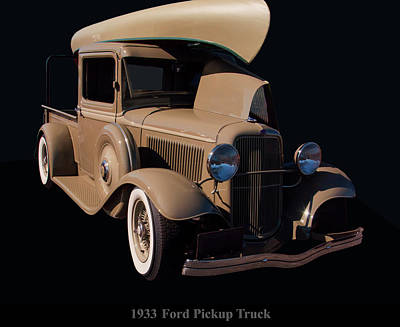 Photograph - 1933 Ford Pickup Truck by Chris Flees