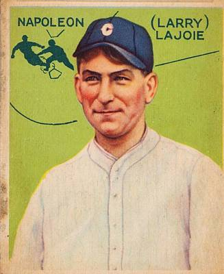 Mannequin Dresses Rights Managed Images - 1933 Goudey Napoleon Lajoie Royalty-Free Image by Celestial Images