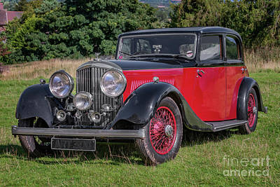 Photograph - 1934 Bentley by Adrian Evans