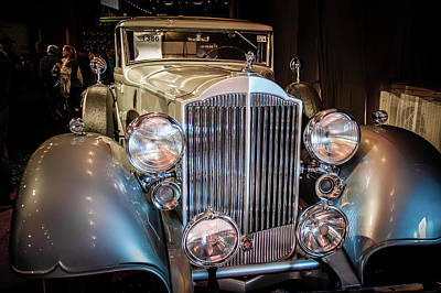 Barrett Jackson Wall Art - Photograph - 1934 Packard by Andrew Wilson