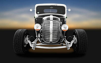 Photograph - 1936 Chevrolet Pickup  -  1936chevroletpickuptruck196306 by Frank J Benz