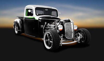 Photograph - 1936 Chevrolet Pickup Truck  -  1936chevroletpickuptruck196304 by Frank J Benz