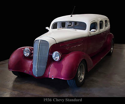 Photograph - 1936 Chevy Standard - Retro Mod by Chris Flees
