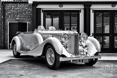 Photograph - 1936 Lagonda Lg45 Tourer  by Tim Gainey