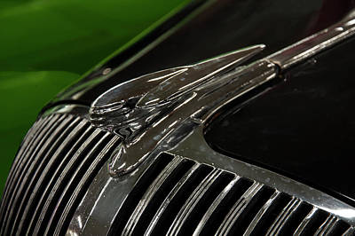 Photograph - 1936 Oldsmobile Hood Ornament by Chris Flees