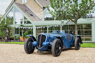 Photograph - 1937 Delahaye Racing Car  by Tim Gainey