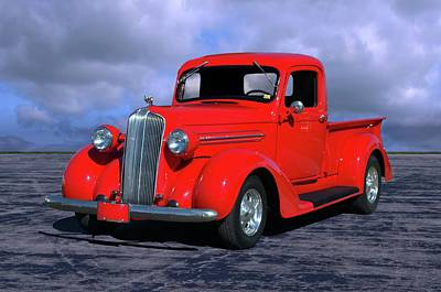Photograph - 1937 Dodge Pickup Truck by TeeMack