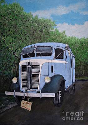 Painting - 1937  Gmc Coe by Reb Frost