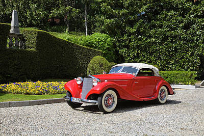 Photograph - 1937 Mercedes-benz 320 Cabriolet A by Car Culture