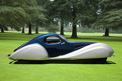 Photograph - 1937 Talbot-lago T150c Ss by Car Culture