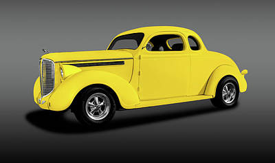 Photograph - 1938 Dodge Brothers D-8 Business Coupe  -  1938dodgebrotherscoupeyelfa196452 by Frank J Benz