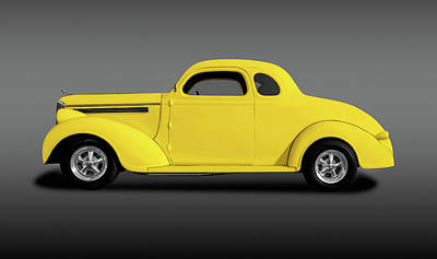 Photograph - 1938 Dodge Brothers D-8 Business Coupe  -  1938dodgebrotherscoupeyelfa196453 by Frank J Benz