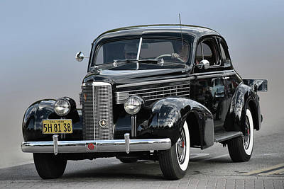 Photograph - 1938 Lasalle by Bill Dutting
