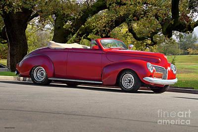 Anne Geddes - 1939 Mercury Rod n Custom Convertible by Dave Koontz