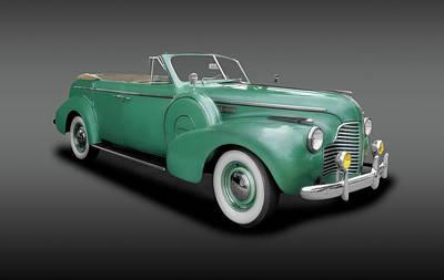 Photograph - 1940 Buick Special Convertible  -  1940fourdoorbuickconvertiblefa153892 by Frank J Benz