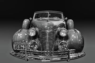 Photograph - 1940 Cadillac 8 by Bill Dutting
