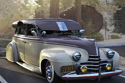 Photograph - 1940 Olds Sedan by Bill Dutting