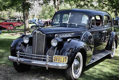 Photograph - 1940 Packard Eight by Bill Dutting