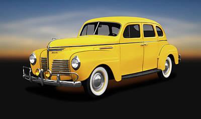 Photograph - 1940 Plymouth 4 Door Sedan  -  1940plymouthfourdoorsedan186158 by Frank J Benz