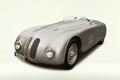Photograph - 1941 Bmw 328 Spider by Car Culture