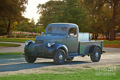 Owls - 1941 Chevrolet Series AK Pickup by Dave Koontz