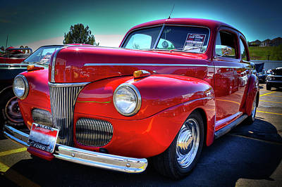 Photograph - 1941 Ford Street Rod by David Patterson