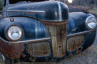 Photograph - 1941 Ford Super Deluxe by Bill Cannon