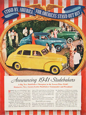 Photograph - 1941 Studebaker Advertising by Kevin McCarthy