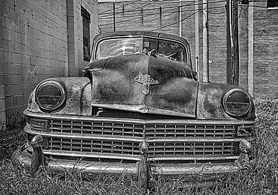 Photograph - 1946-1948 Chrysler Windsor In Oklahoma City, Ok by Peter Ciro
