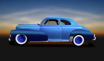 Photograph - 1946 Chevrolet Fleetmaster Coupe  -  1946chevroletfleetmastercoupe149559 by Frank J Benz