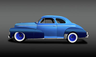 Photograph - 1946 Chevrolet Fleetmaster Coupe  -  1946chevyfleetmastercoupefa149559 by Frank J Benz