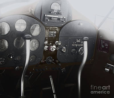 1946 Fairchild 24 Art Print by Steven Digman