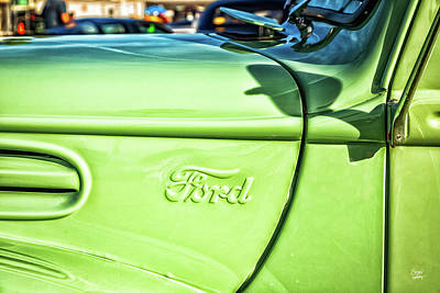Photograph - 1946 Ford Pickup Truck by Gestalt Imagery