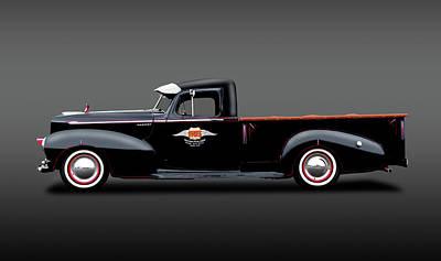 Photograph - 1947 Hudson Big Boy 3/4 Ton Pickup Truck  -  1947hudsonbigboypickuptrkfa138254 by Frank J Benz
