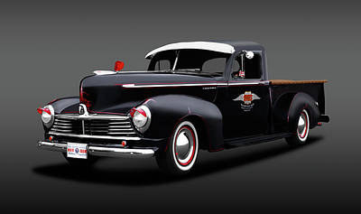 Photograph - 1947 Hudson Big Boy 3/4 Ton Pickup Truck  -  1947hudsonbigboypickuptrkfa138257 by Frank J Benz