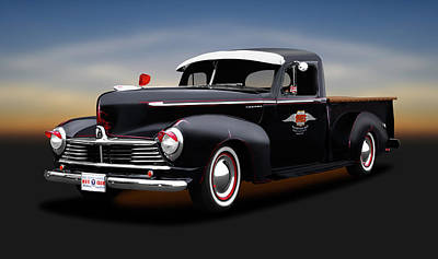 Photograph - 1947 Hudson Big Boy 3/4 Ton Pickup Truck  -  1947hudsonbigboypickuptruck138257 by Frank J Benz