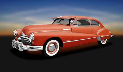 Photograph - 1948 Buick Super 2-door Sedanette  -  1948buicksuper2drsedanette196489 by Frank J Benz