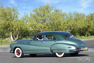 Photograph - 1948 Buick Super Eight by Bill Dutting
