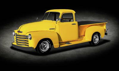 Photograph - 1948 Chevrolet Pickup Truck  -  1948chevroletpickuptrktexture196377 by Frank J Benz
