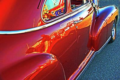 Photograph - 1948 Chevy Reflections by Bill Jonscher