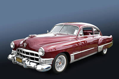 Photograph - 1949 Cadillac by Bill Dutting