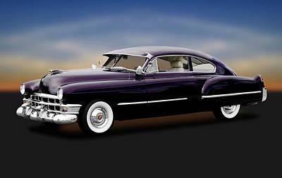 Photograph - 1949 Cadillac Two Door Sedan  -  1949cadillac2doorsedan172173 by Frank J Benz