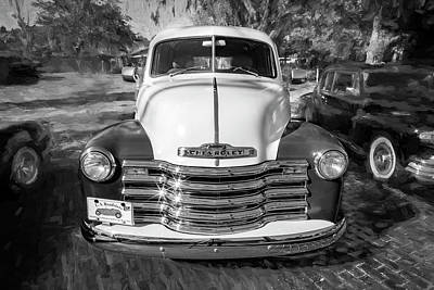 Photograph - 1949 Chevrolet 3100 Series Panel Truck 300 by Rich Franco