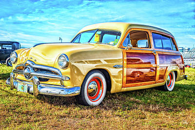 Photograph - 1949 Ford Woody Station Wagon by Gestalt Imagery
