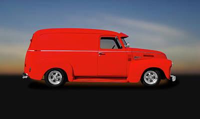 Photograph - 1950 Chevrolet 3100 Panel Delivery Truck  -  1950chevroletpaneltruck185989 by Frank J Benz