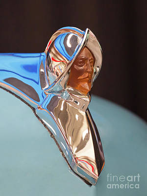 Photograph - 1950 Desoto Hood Ornament by Kevin McCarthy