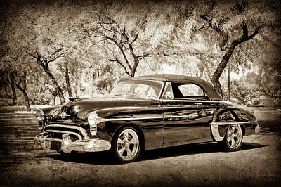 Photograph - 1950 Oldsmobile 88 -004s by Jill Reger