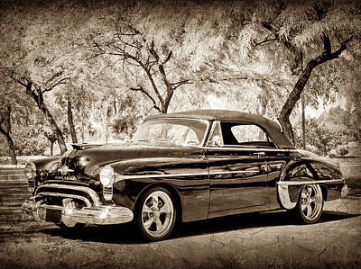 Photograph - 1950 Oldsmobile 88 -004s45 by Jill Reger