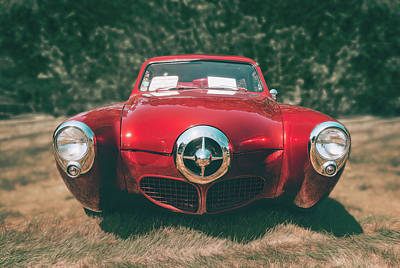 Roaring Red - 1950 Studebaker by Scott Norris
