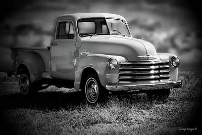 Photograph - 1951 Chevrolet 3100 by Wesley Nesbitt